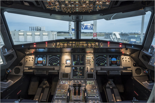 Airbus A320 Cockpit Posters and Prints  Posterloungecouk