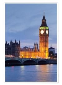 Big Ben, London Posters and Prints | Posterlounge.co.uk