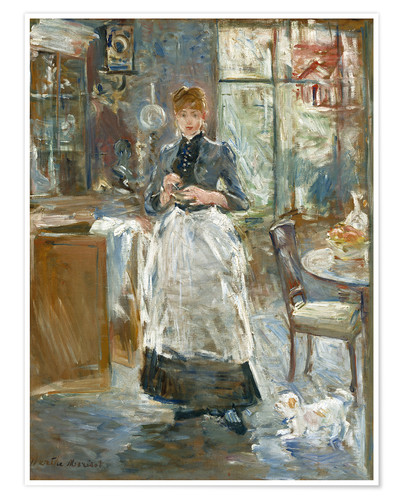 Berthe Morisot In the Dining Room Poster  Posterlounge