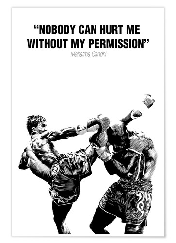 Paola Morpheus Motivational Quotes martial art Poster