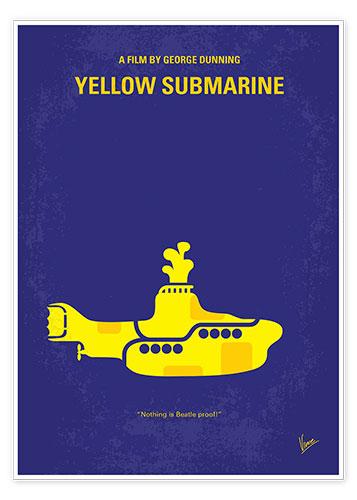 premium poster yellow submarine