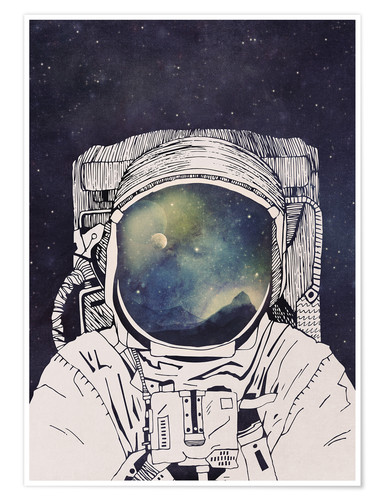 Tracie Andrews Dreaming of Space Poster online bestellen