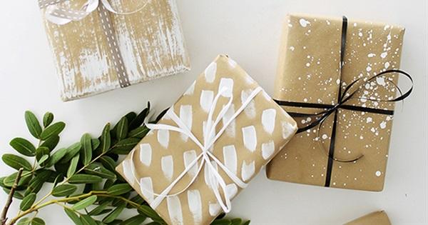 13 diy gift wrap