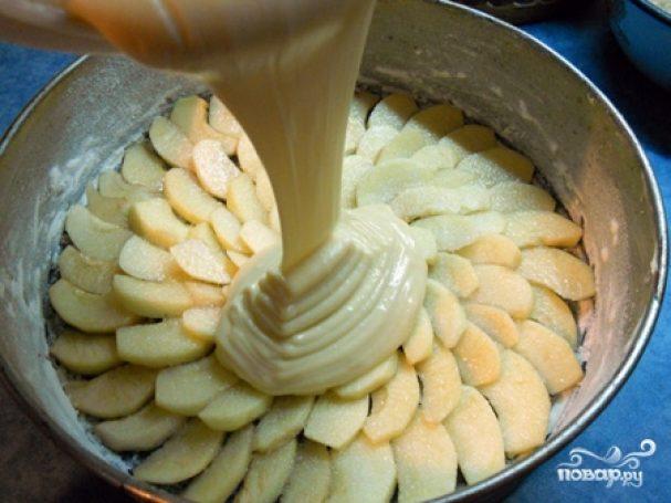krem testo dlya yablochnogo piroga 158940 - Cream dough for Apple pie