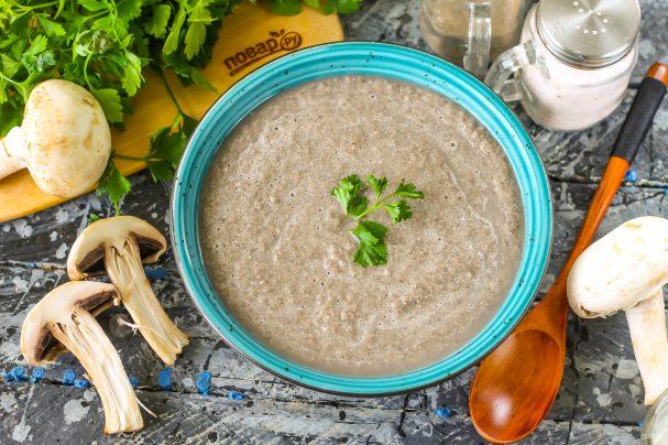 Грибной суп по Дюкану