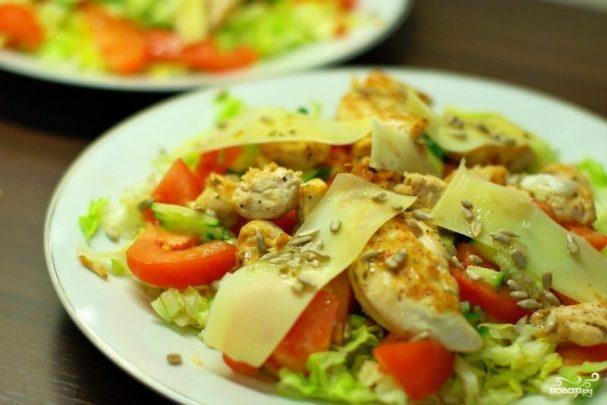 teplii salat s kuricei 58071 - Warm chicken salad