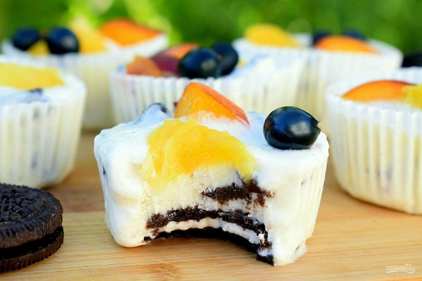 pirojnie quotoreoquot pod iogurtom 414951 - Cakes Oreos under yogurt