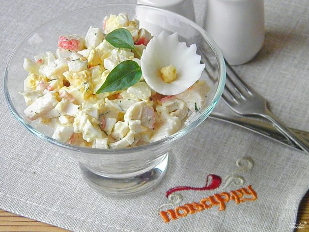 "salat quotmorskoi kaprizquot 258924 - Salad ""Sea-whim"""