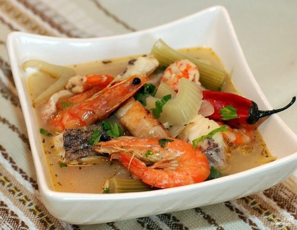 ribnii sup s fenhelem 44450 - Fish soup with fennel
