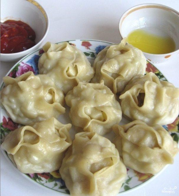 Манты по-узбекски