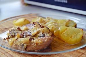 Khoai tây nướng với thịt lợn - Ảnh Bước 7