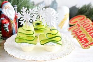 """Новогодняя закуска """"Ёлочки"""" - фото шаг 5"""