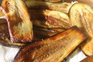 Баклажаны с орехами и сыром - фото шаг 6