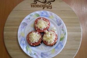 Жареные баклажаны с помидорами и сыром - фото шаг 8