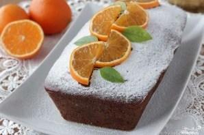 Шоколадный кекс с апельсином - фото шаг 7