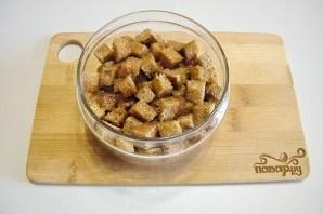 Салат со шпротами - фото шаг 2