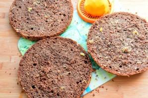 Шоколадный торт «Мокко-апельсин» - фото шаг 9