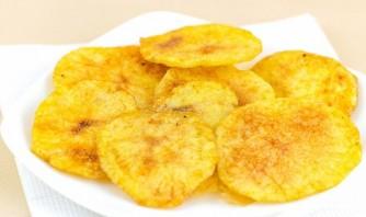 Үйдегі үйдегі картоп чиптері - 4-қадам