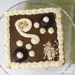 "Cake ""Leningradsky"" - Foto Langkah 12"