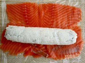 "Resepti Sushi ""Philadelphia"" kotona - Kuva vaihe 6"