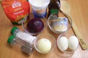 Салат с селедкой и свеклой - фото шаг 1