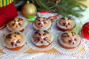 Кексики на Новый год Крысы - фото шаг 12