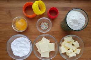 Печенье с белым шоколадом - фото шаг 1