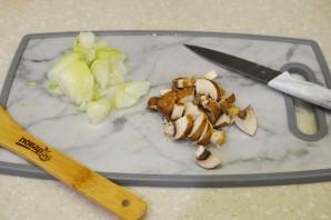 Дорадо, фаршированная жульеном из морепродуктов - фото шаг 3