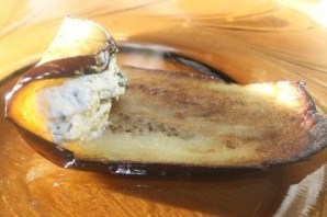 Баклажаны с орехами и сыром - фото шаг 7