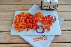 Вегетарианское заливное к Новому Году - фото шаг 3