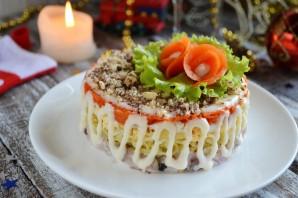 """Салат с сельдью """"Фаворит"""" - фото шаг 10"""