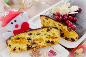 Рождественский кекс с мандаринами - фото шаг 13