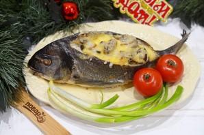 Дорадо, фаршированная жульеном из морепродуктов - фото шаг 12