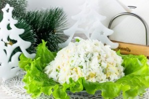 """Салат """"Первый снег"""" - фото шаг 7"""