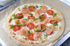 """Пицца """"Аль сальмоне"""" - фото шаг 10"""