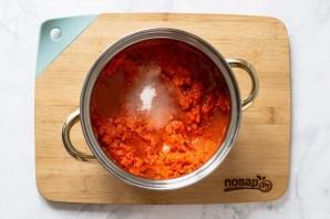 "Салат из моркови ""Оранжевое чудо"" на зиму - фото шаг 4"