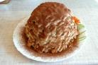 Cookie-дан жасалған торт қоюландырылған сүт қосылған пісірместен