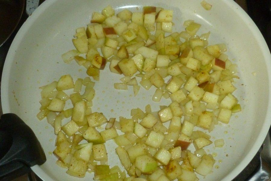 Салат с арбузом и креветками