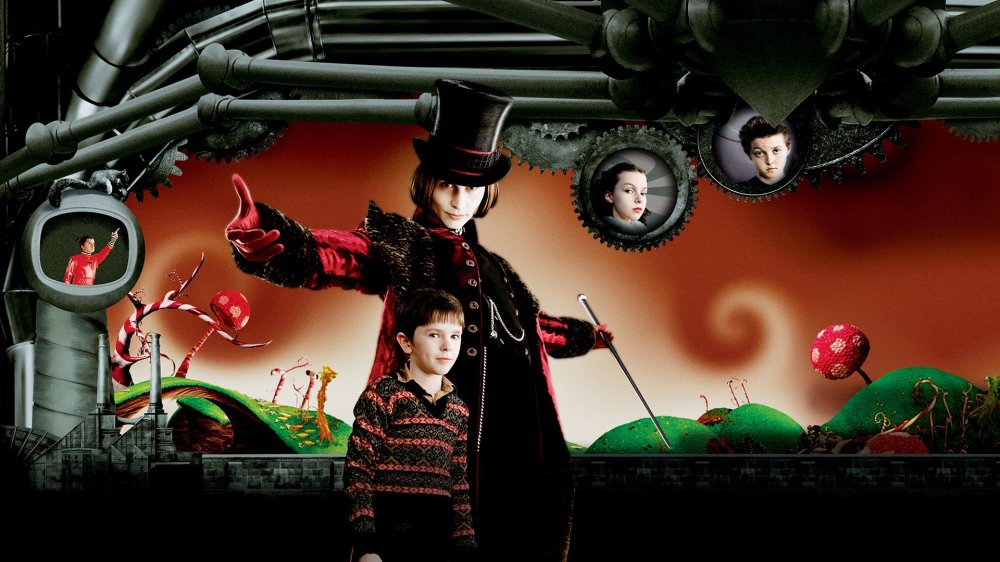 Charlie and the Chocolate Factory (2005) - Johnny Depp films