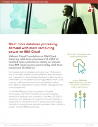 Principled Technologies Publishes Report Explaining How Choosing Newer Intel Xeon Processors for an IBM Cloud and VMware Cloud Foundation Solution Can Help Ecommerce Data