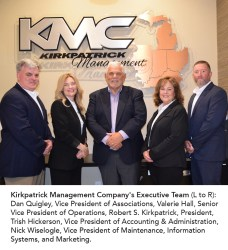 Kirkpatrick Management Company Earns Top Industry Professional Credential