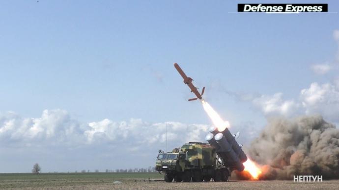 """Випробування крилатої ракети """"Нептун"""" успішно пройшло в Україні"""