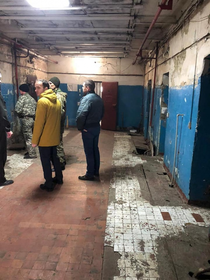 Без попередження: Міністр юстиції відвідав СІЗО в Одесі