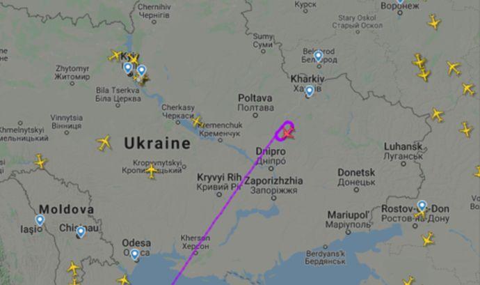 Названі місце і час прильоту літака з евакуйованими з Уханю