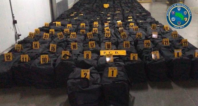 5 тонн кокаїну хотіли  відправити до Роттердама з Коста-Рики