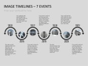 PowerPoint Timeline Template with Images