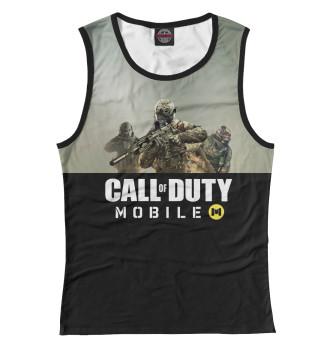Женская Майка Call of Duty: Mobile