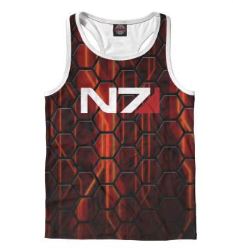 Мужская Борцовка Mass Effect N7