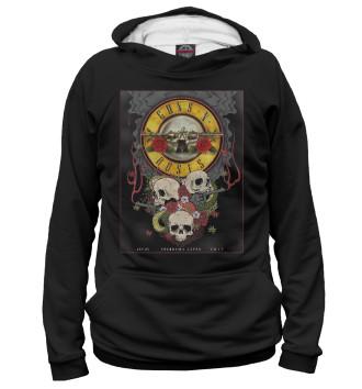 Женское Худи Guns N' Roses band