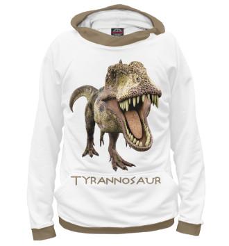Мужское Худи Тираннозавр